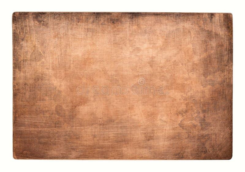 miedziana stara tekstura obraz royalty free