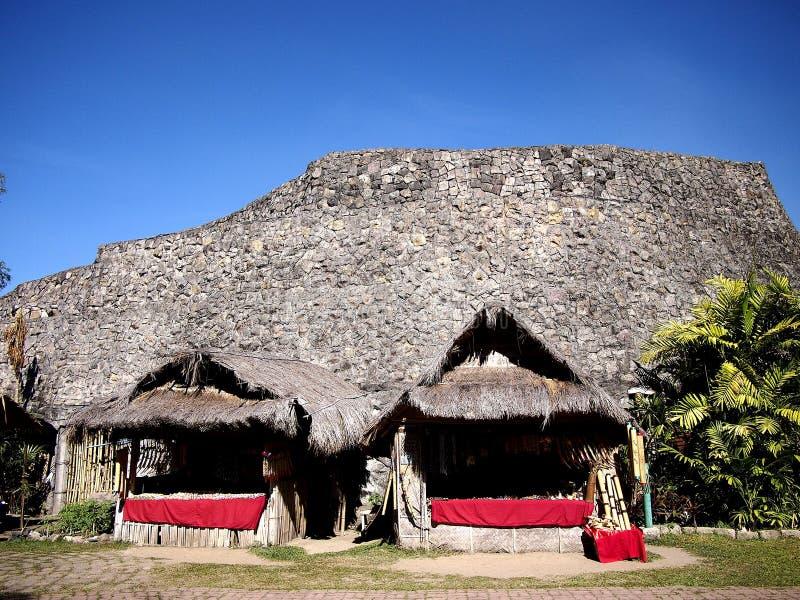 Miejsca i przyciągania wśrodku Nayong Pilipino przy Clark polem w Mabalacat, Pampanga zdjęcia stock