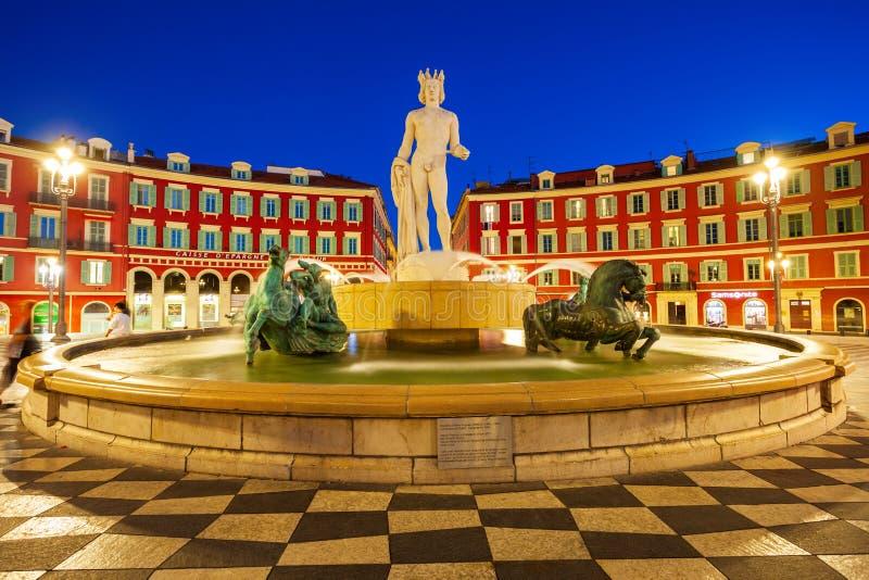 Miejsca Massena kwadrat w Ładnym obrazy royalty free