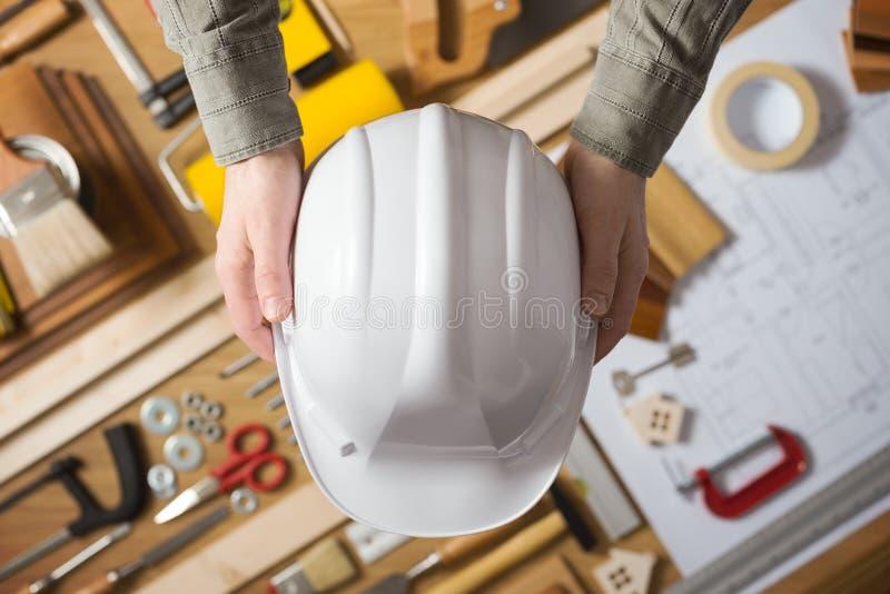 Miejsca pracy bezpieczeństwo obraz stock