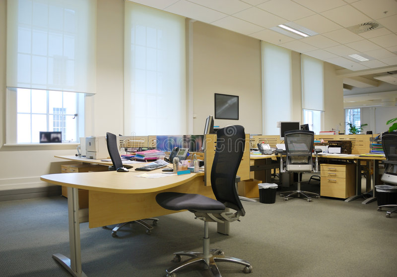 miejsca pracy biurowych zdjęcia royalty free