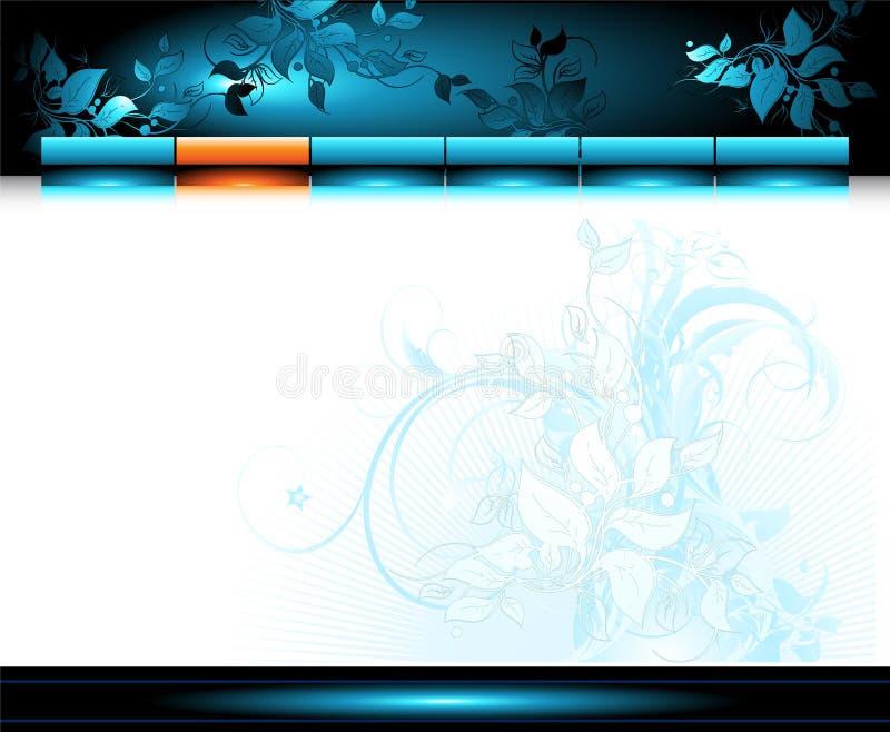 miejsca szablonu sieć ilustracja wektor
