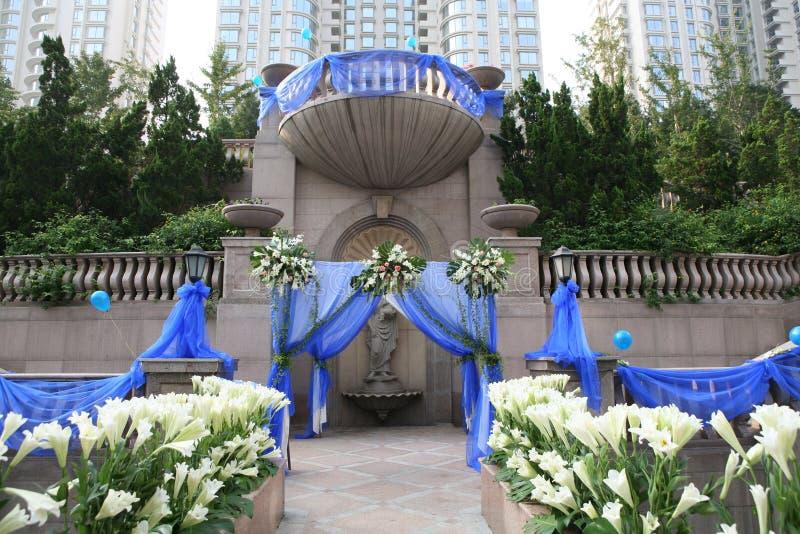 miejsce ślub zdjęcie stock