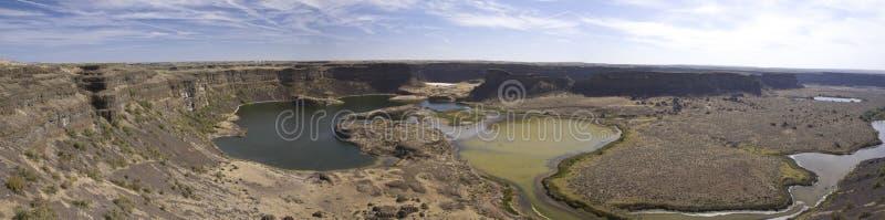 Miejsce antyczna siklawa, Słońce jeziora Suszy spadku stanu parka, Washi zdjęcie royalty free
