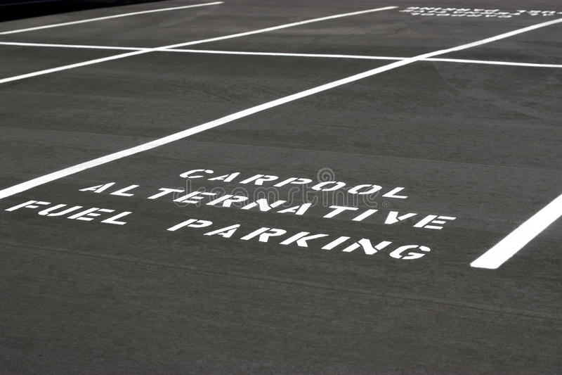 miejsce do parkowania obrazy royalty free