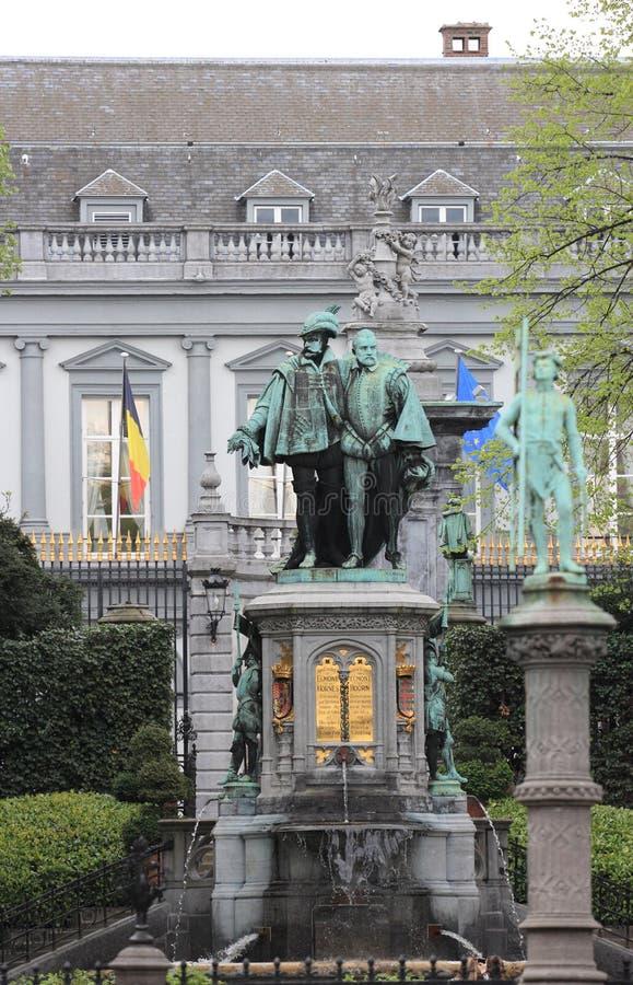 Miejsce Du Petit Sablon, Bruksela obrazy stock