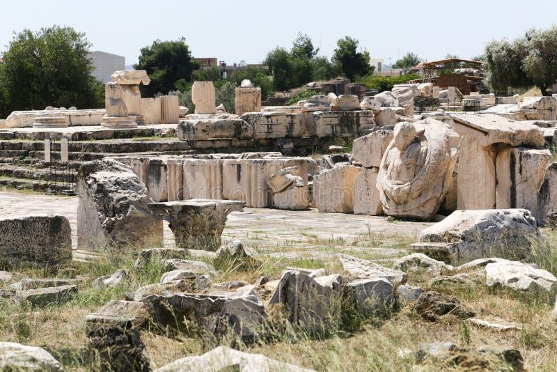 Miejsce Elefsina obrazy royalty free