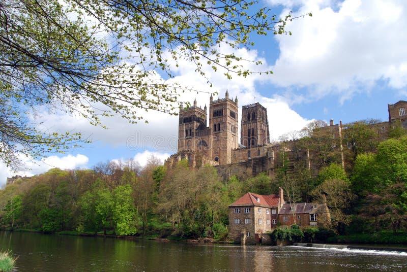 miejsce narodzin biskupów katedralny chrześcijaństwa Durham England domowy książe obraz royalty free