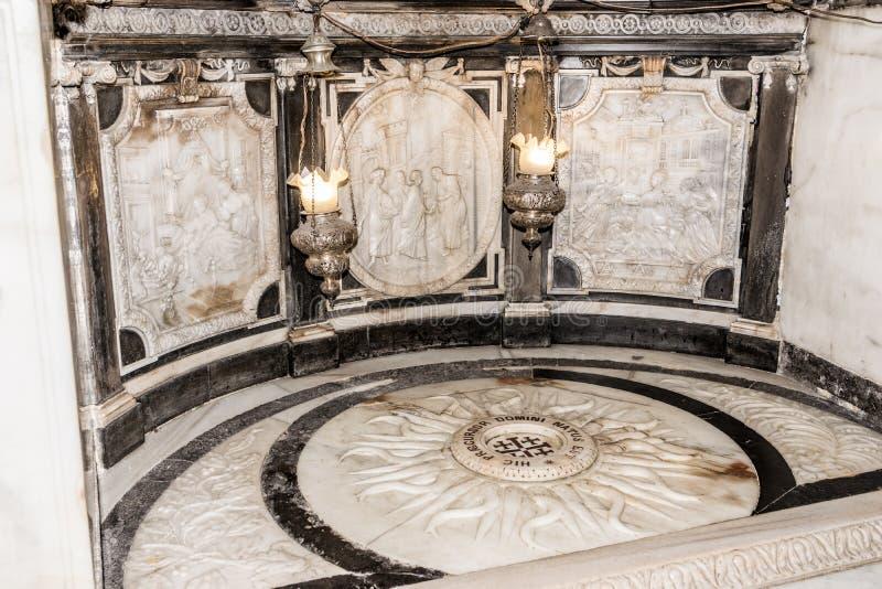 Miejsce narodzin St John baptysta obrazy royalty free