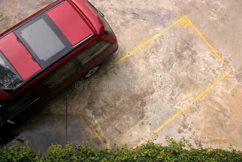 miejsce parkingowe obrazy royalty free