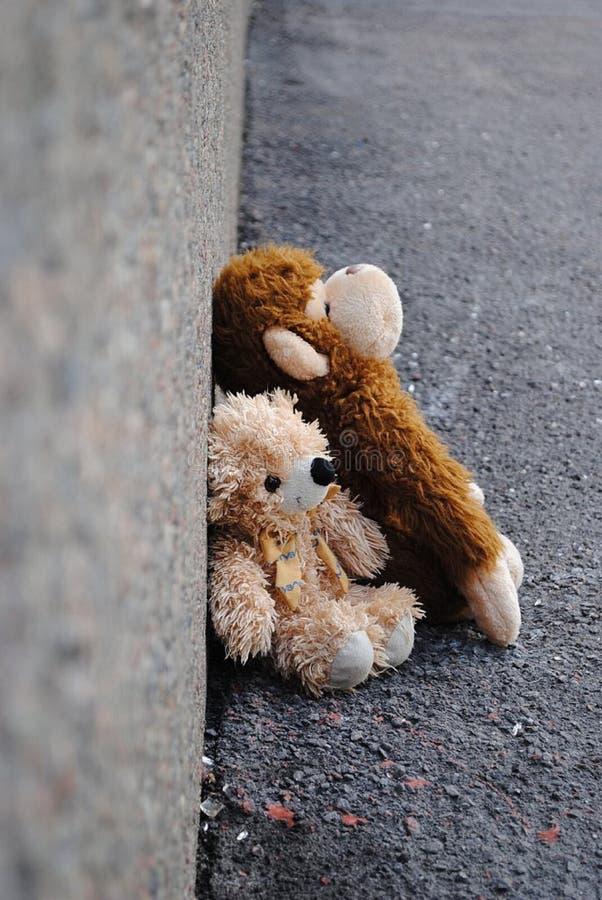 Miejsce przegrane zabawki zdjęcia stock