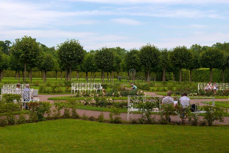 Miejsce spoczynku w parku obraz royalty free