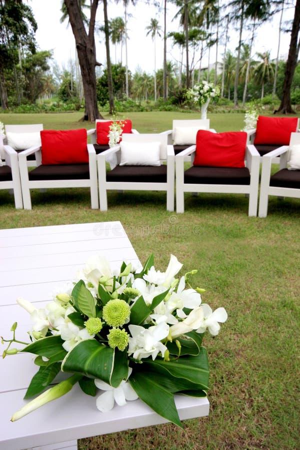 miejsce wydarzenia ślub zdjęcia stock