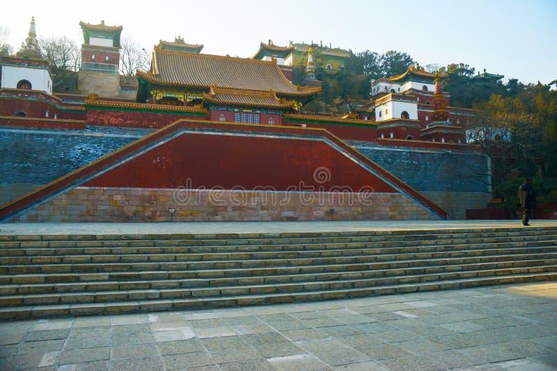 Miejsce Xumi Lingjing Hall fotografia stock