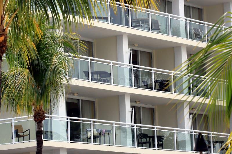 Miejscowość nadmorska balkonu klucza Largo, Floryda obraz stock