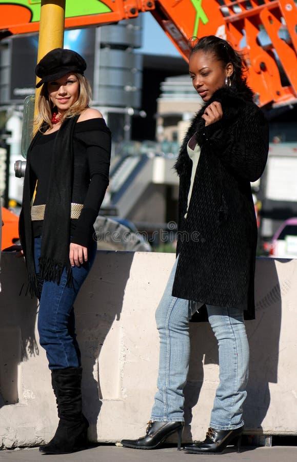 miejska mody obraz royalty free