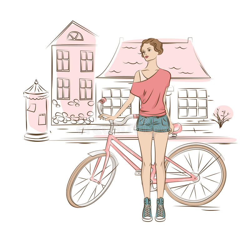 miejska sztuki ilustracja wektor