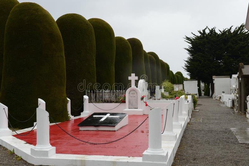 Miejski cmentarniany Punta Arenas zdjęcie stock