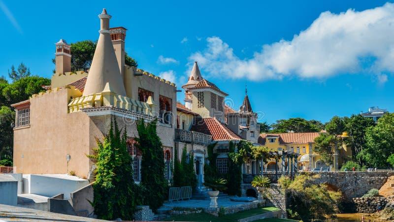Miejski muzeum Cascais, w Portugalia fotografia stock