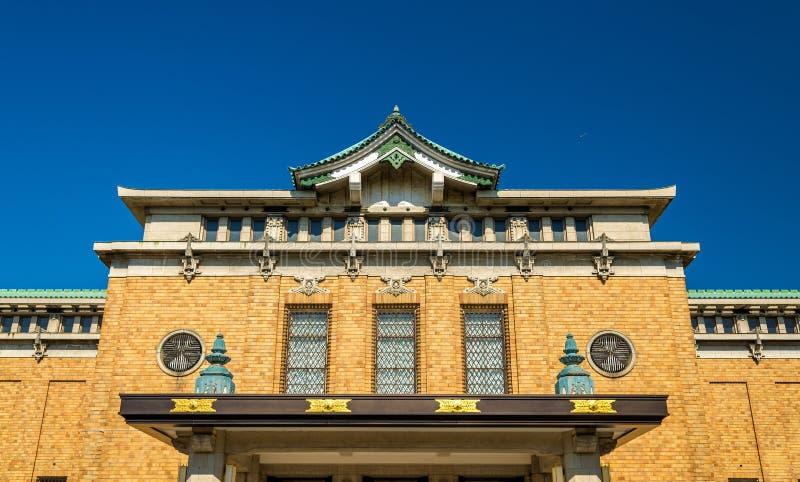 Miejski muzeum sztuki w Kyoto zdjęcie royalty free
