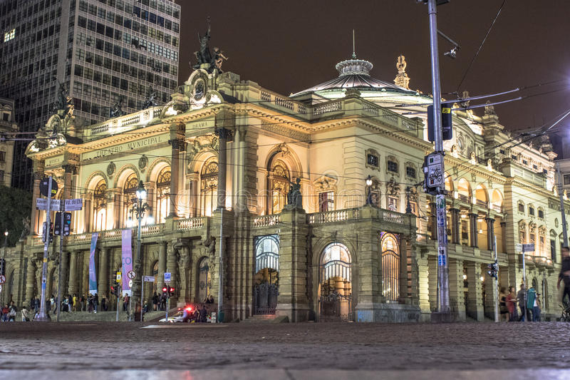 Miejski teatr fotografia royalty free