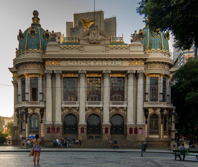 Miejski Theatre Cinelandia zdjęcia stock