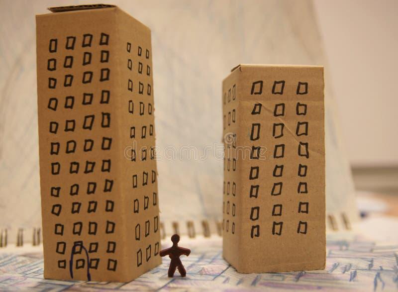 miejskiego życia obraz stock