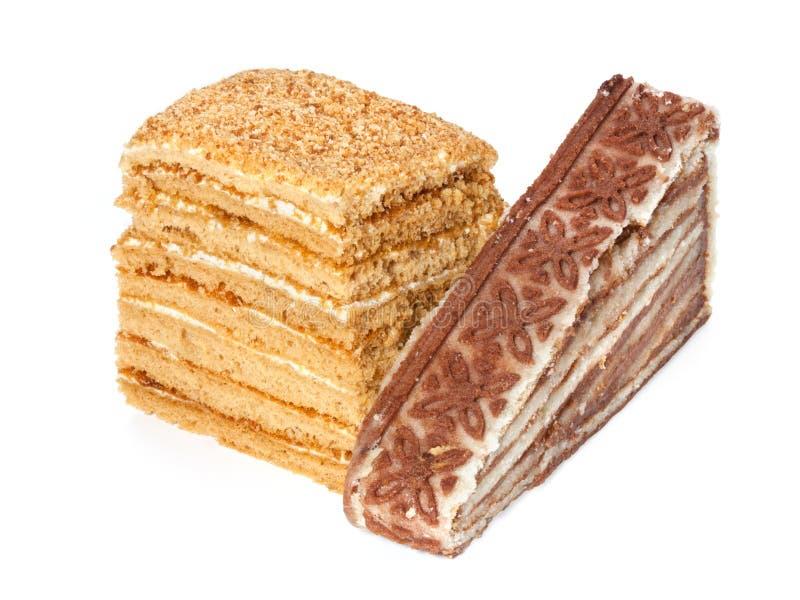Download Miel et gâteau posé image stock. Image du café, dessert - 45371091