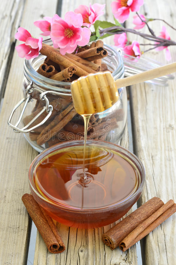 Miel frais image stock