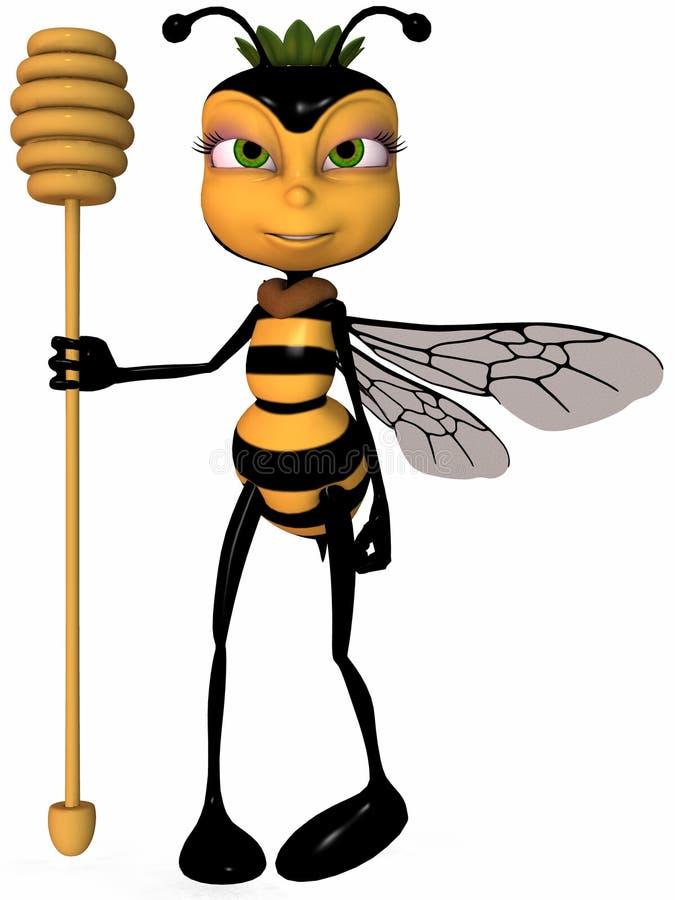 Download Miel la abeja de Toon stock de ilustración. Ilustración de cómico - 7285866