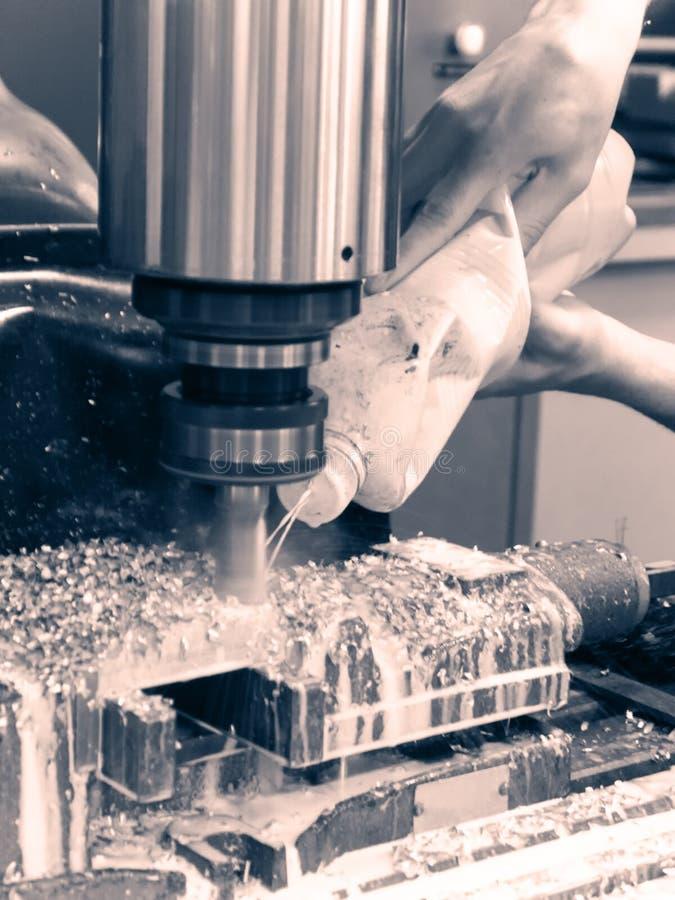 Mielenia metalworking proces obraz royalty free