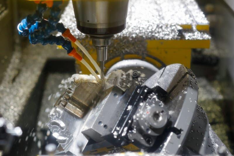 Mielenia metalworking proces zdjęcia royalty free