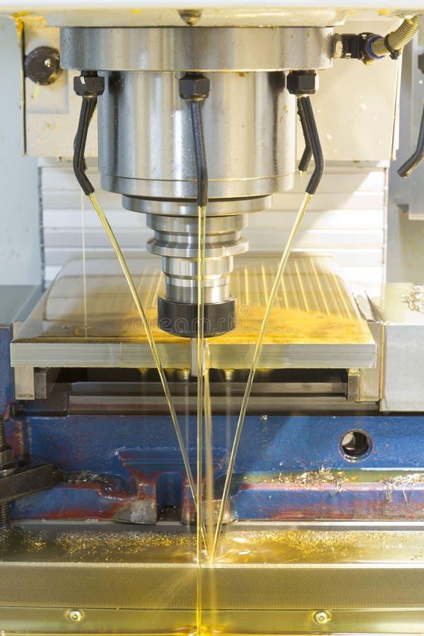 Mielenie maszyny CNC zdjęcia royalty free