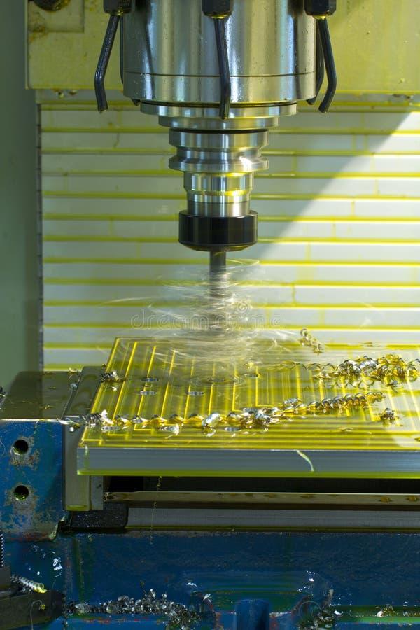 Mielenie maszyny CNC obraz stock