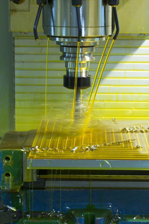 Mielenie maszyny CNC zdjęcia stock