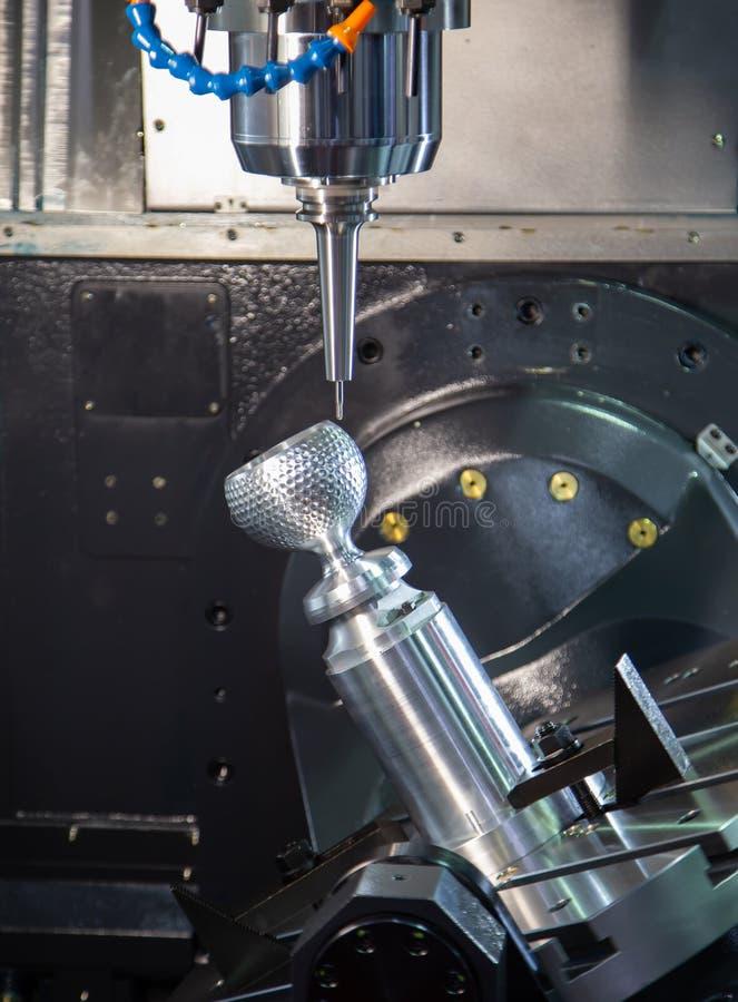 Mielenie maszyny machining filiżanka zdjęcie stock