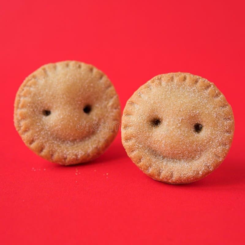 mielone pie uśmiecha się zdjęcia stock