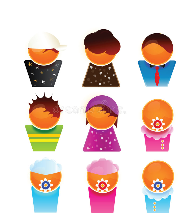 Miembros de familia libre illustration