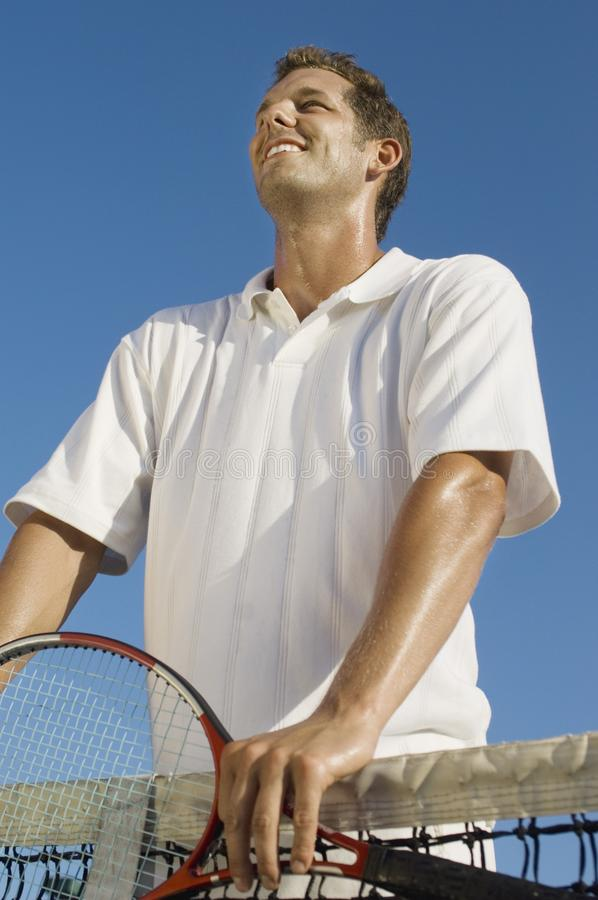 mienia gracza kanta tenis obrazy stock
