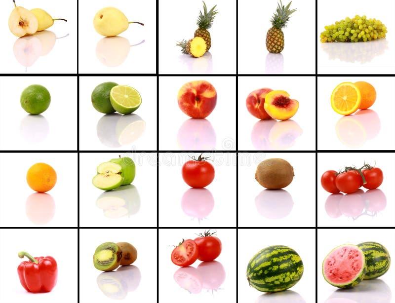 mieszać inkasowe owoc obraz stock