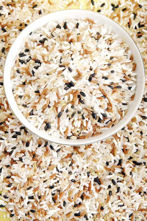 mieszający ryż obrazy stock