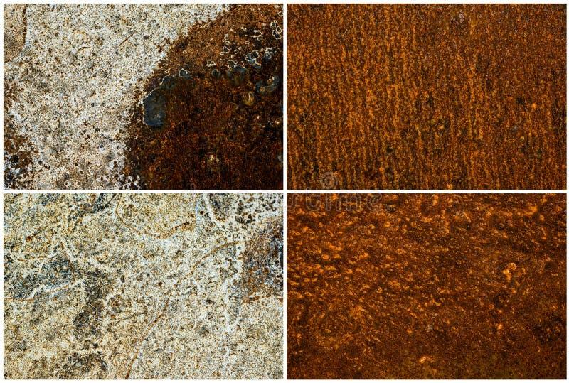 Mieszane tekstury ustawiać obraz royalty free
