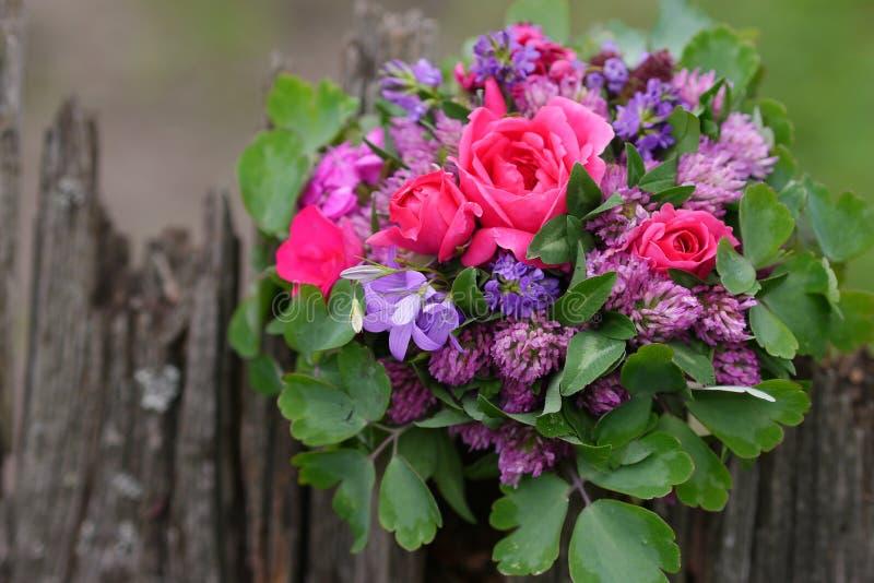 Mieszanka kwiatu bukiet od Transylvania obrazy royalty free