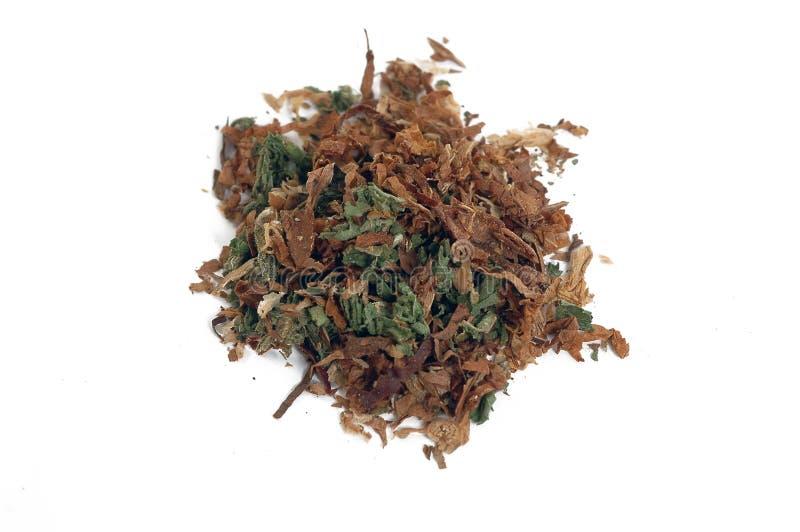 mieszany marihuana tytoń fotografia royalty free