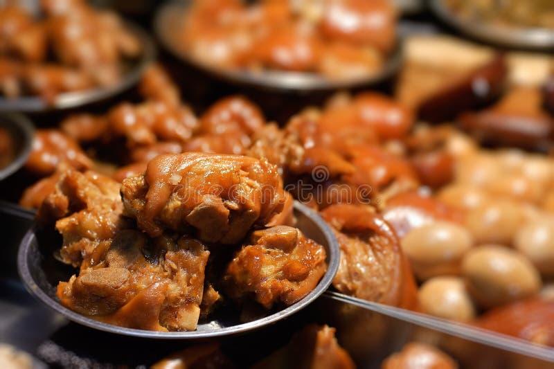 mieszany mięsa soya zdjęcie stock