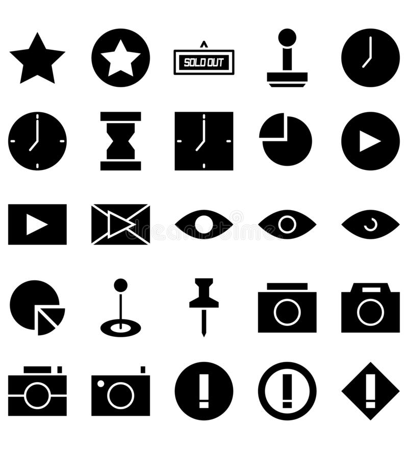 Mieszany szyldowy symbolu czerni ikony logo lub ilustracja ilustracji