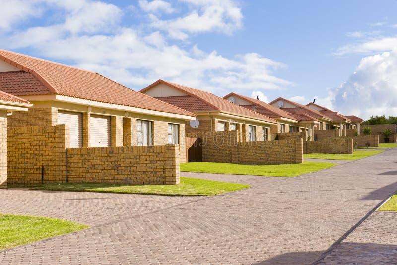 mieszkalnictwo rozwoju przedmieścia zdjęcia royalty free