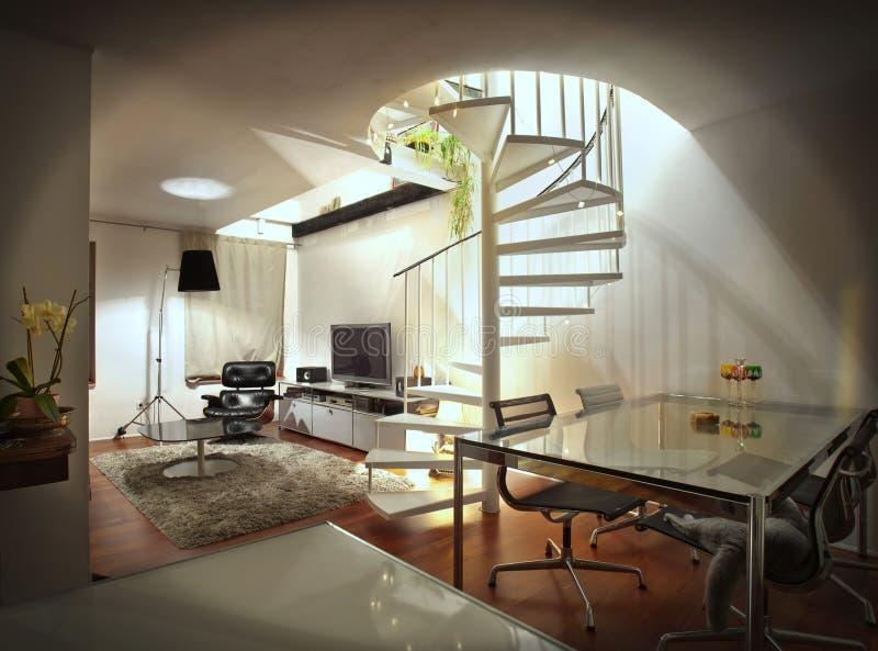 mieszkania loft zdjęcie stock