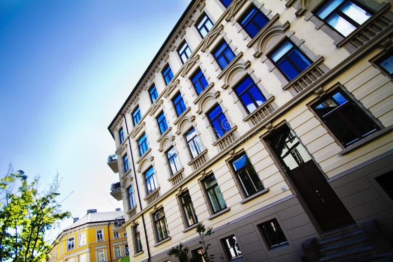 mieszkania Oslo obrazy stock