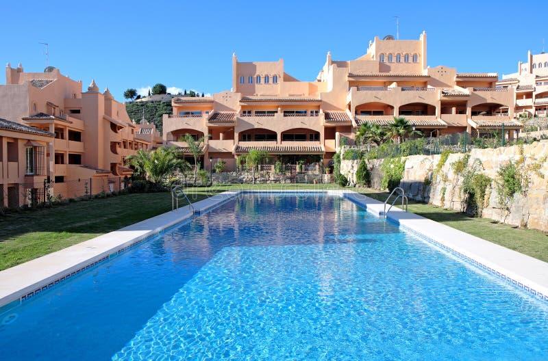 mieszkania urbanizacji luksusowy wakacyjnego wakacje zdjęcie stock